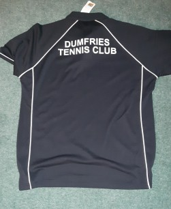 DTC Adult Polo with Club on rear