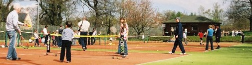 Tennis fun day