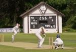 G Cross batting v Glenpark