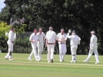 Dumfries celebrate a run-out against SMRH