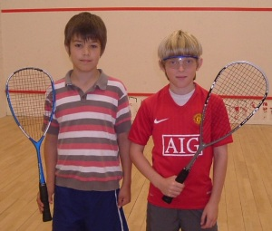 Junior squash restarts at Nunholm