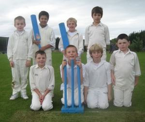 Successful Dumfries Kwik Cricket Squad at Stirling