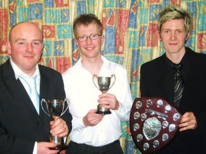 2008 Award Winners: Byers, Kyle and Johnston