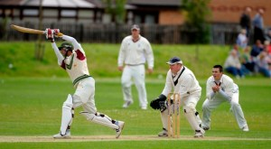Renfrew's Said hits out for his 67. Copyright Donald MacLeod