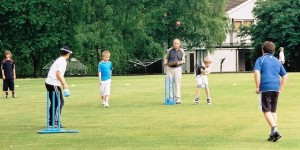 Kwik Cricket action at Nunholm