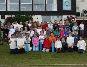 Primary cricket teams raring to go at Nunholm