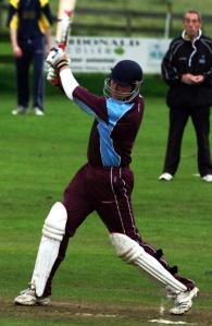 Scott Beveridge in 20/20 mode, courtesy of Cricket Europe