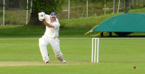 Josh drives his way to 68 not out against Gatehouse