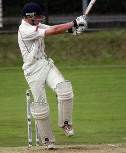 Tommy batting against Netherlands U17s, courtesy of ICC/CricketEurope