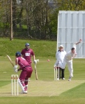 Alan Davidson took 2 wickets