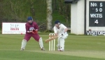 Clarke top scored for Dumfries with 51