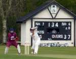 Dawson shared an eighty run partnership