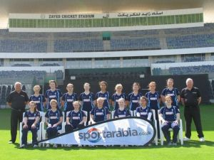 Scotland Womens Dev Squad in the UAE
