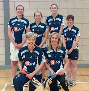Dumfries Women - runners-up at Glasgow