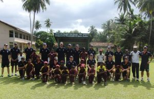 Scotland U19s schools coaching in Sri Lanka ©Cricket Scotland