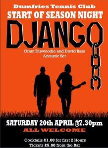 Django Sat 20 Apr