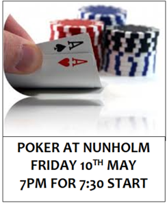 POKER 10TH MAY