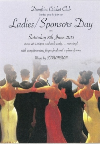 2013 Sponsors and Ladies Day
