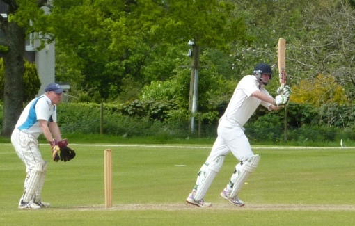 Al top scored with a fifty for Dumfries