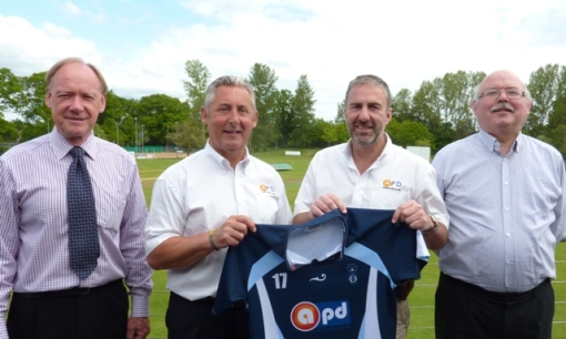 Rory (Chairman), Elliot Graham (APD), Jim Main (APD), Bob(Treasurer)