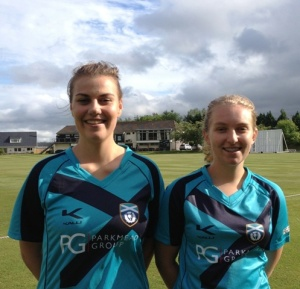 Rosy and Kirsty shared 5 wickets