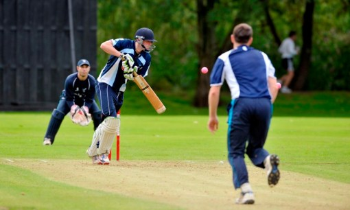 Davidson in Twenty20 Finals Day action on Sunday ©Donald MacLeod