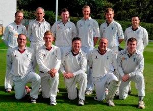 Finished third - APD Dumfries side v Uddingston