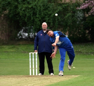 Scott Beveridge took three wickets bowling for the Reivers