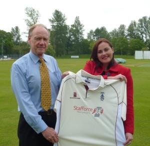 Stafforce Recruitment Dumfries CC sponsors
