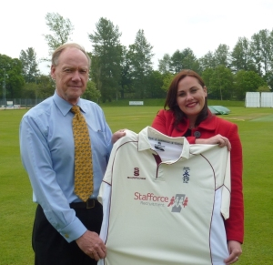 Stafforce Recruitment Dumfries CC sponsors