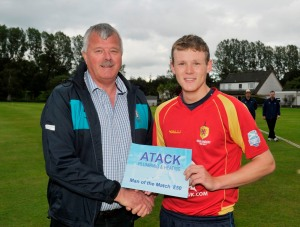 Atack Plumbing Man of the Match  ©Donald MacLeod