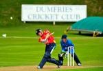 Michael Leask batting ©DonaldMacLeod