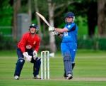 Scott Beveridge batting for the Reivers ©DonaldMacLeod