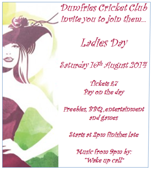 20140816 Ladies Day Poster