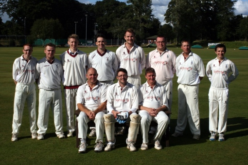 The Nunholm team hit a Club record total