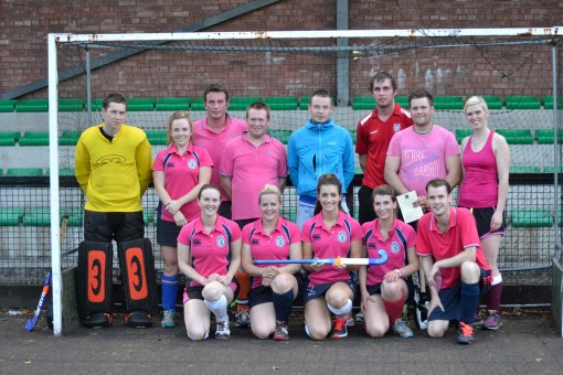 The Young Farmers - winners of Dumfries Hockey Club, Summer League 2014