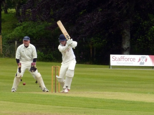 Chris McBride top scored with 73 for Nunholm