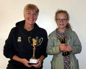 Sue and Katy - the Female Players of the Year
