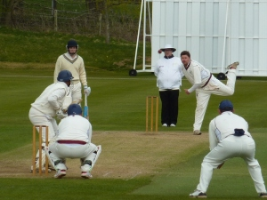 Bevo took five wickets for Stafforce Dumfries