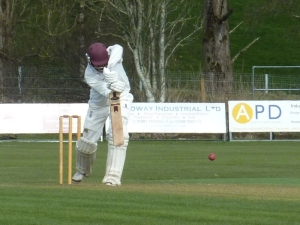 Chris hit 94 for Stafforce Dumfries