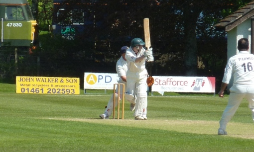 Nunholm skipper Cammie Telfer led the way with a rapid fifty.