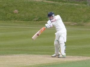 Ronan Dunbar hit his maiden fifty for Nunholm
