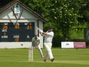Bevo hit 98 in the Cup on Sunday