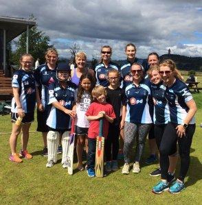 20160730 Stirling Ladies - team photo -#2